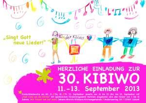 Kibiwo Plakat 2013