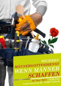 Männergottesdienstplakat 2013